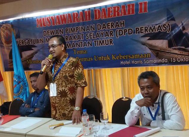 Isman Saladin Terpilih Ketua, Permas Kaltim Periode 2017-2022