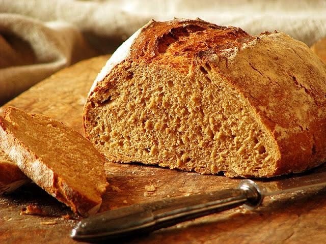 recette de pain bio complet, seigle, froment