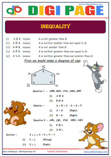 DP | Inequality | 09 -Sep-16