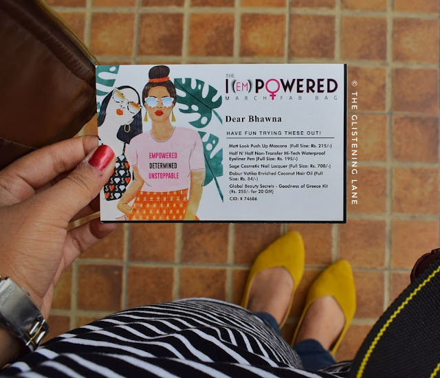 the i empowered fab bag