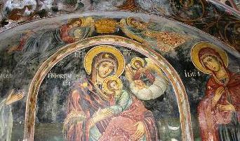 Οι τοιχογραφίες του 13ου αι. ναού στην Πλακωτή Παραμυθιάς συνδέονται με την Κάτω Ιταλία