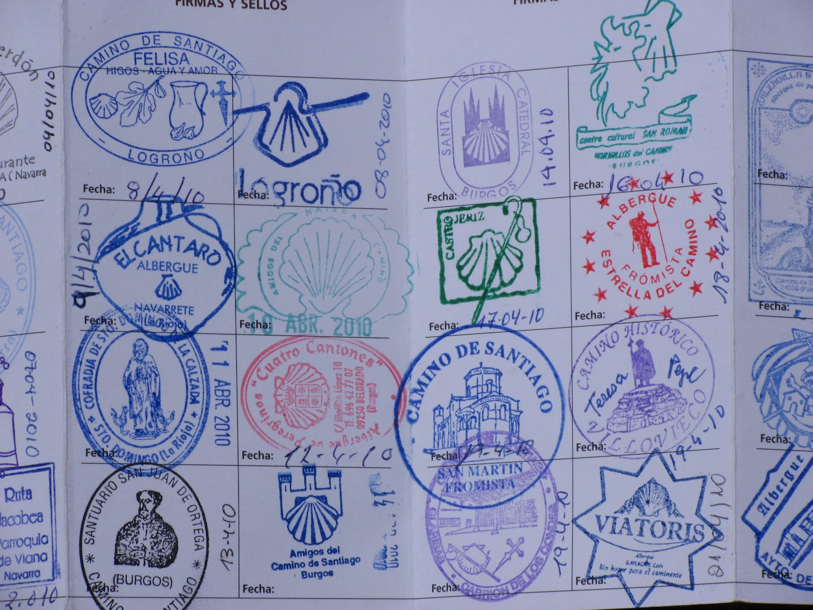 Travel Tales From Around The World Embracing Simplicity 38 Days On The Camino De Santiago - Camino Santiago Passport