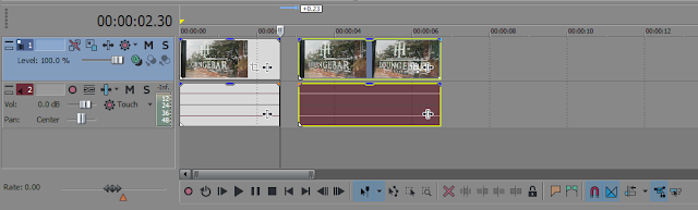 Memotong Video di Sony Vegas Pro