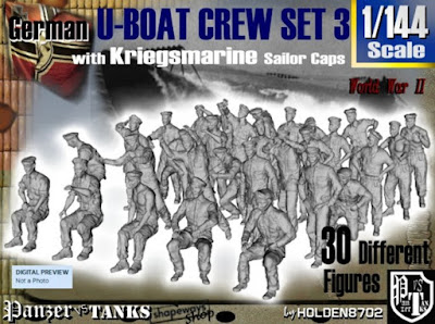 1-144 German U-Boot Crew Set 3 picture 1
