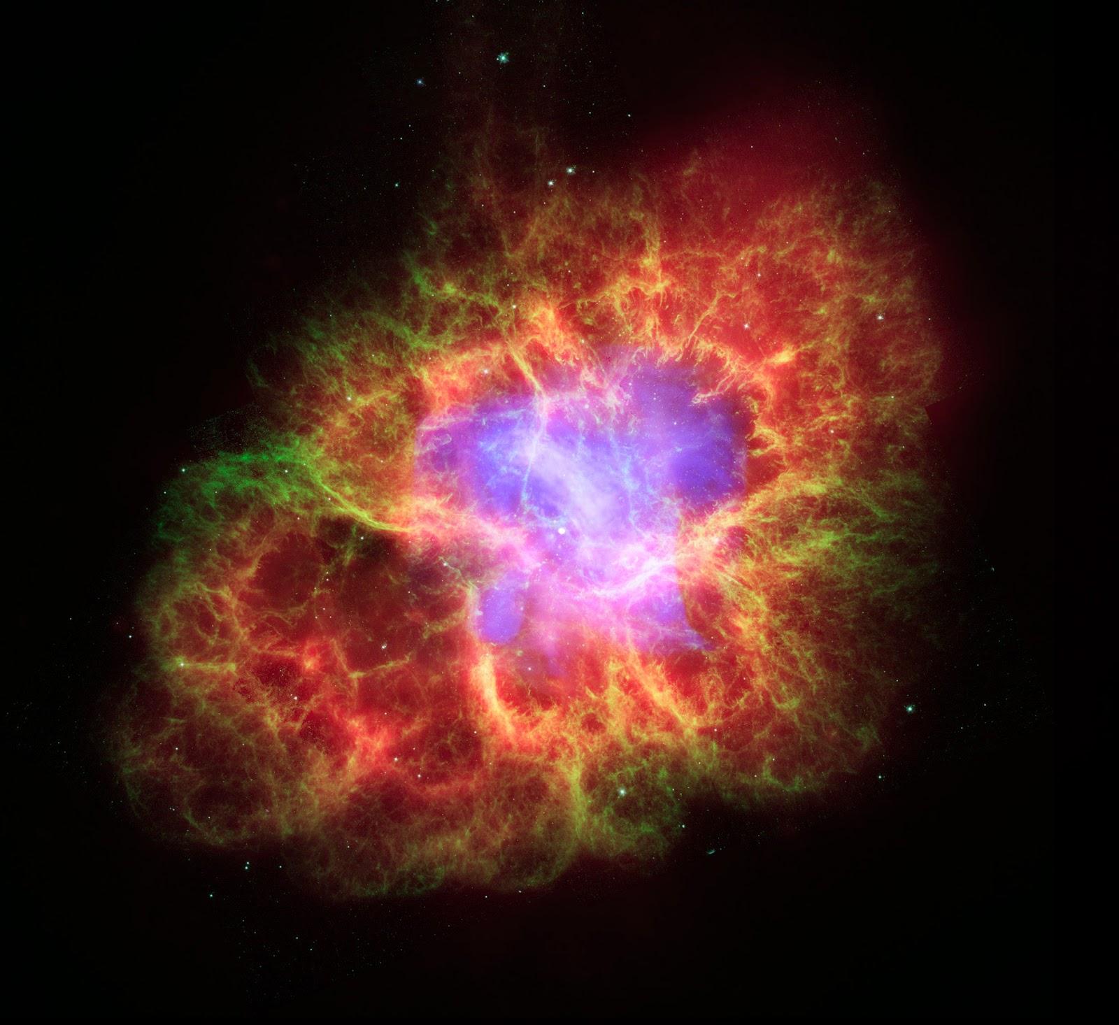 Resultado de imagem para nebulosa do caranguejo