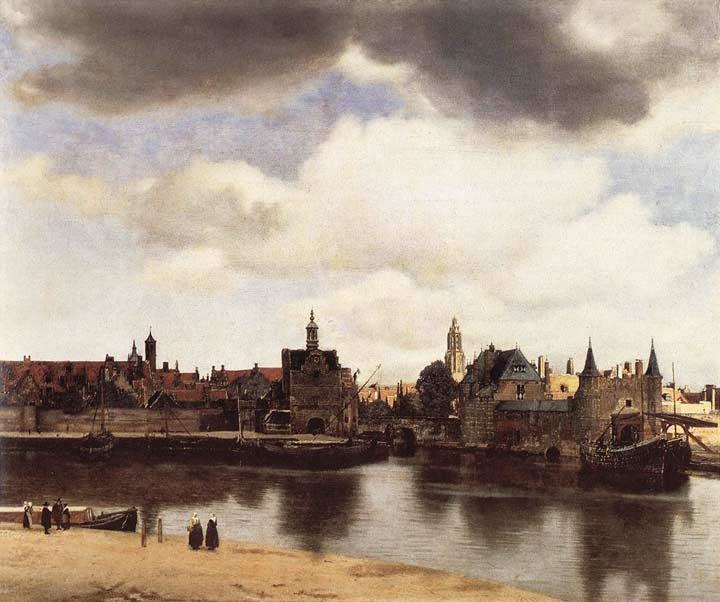 Vista do Delft - Vermeer, Jan e suas principais pinturas