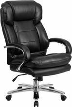 Leather Big and Tall Office Chair