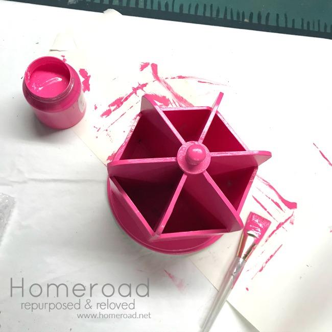 CUREiously Pink Desk Organizer