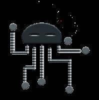 six legged search robot