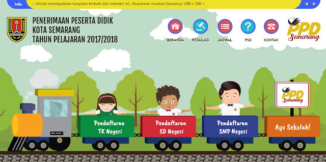 Dinas Pendidikan luncurkan website PPD tahun 2017/2018 Kota Semarang