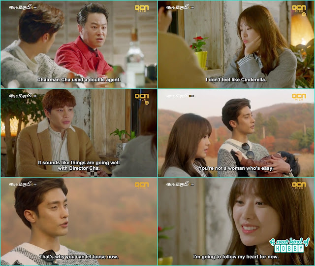 yoo mi told hyun tae that she will follow her heart - My Secret Romance: Episode 9 korean drama