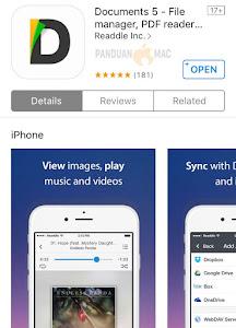 Documents 5 iPhone dan iPad