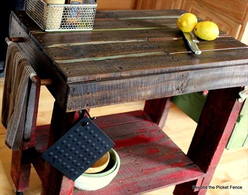 Simple Pallet Kitchen Furniture Ideas