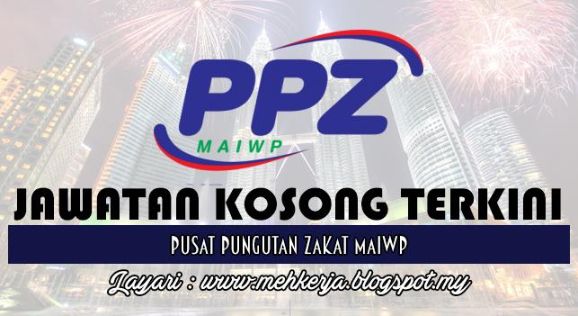 Jawatan Kosong Terkini 2016 di Pusat Pungutan Zakat MAIWP