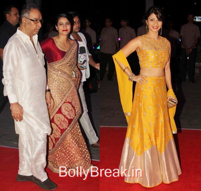 Praful Patel, Satyapal Singh, Devendra Fadnavis, Amruta, Celebs At Kush Sinha's reception