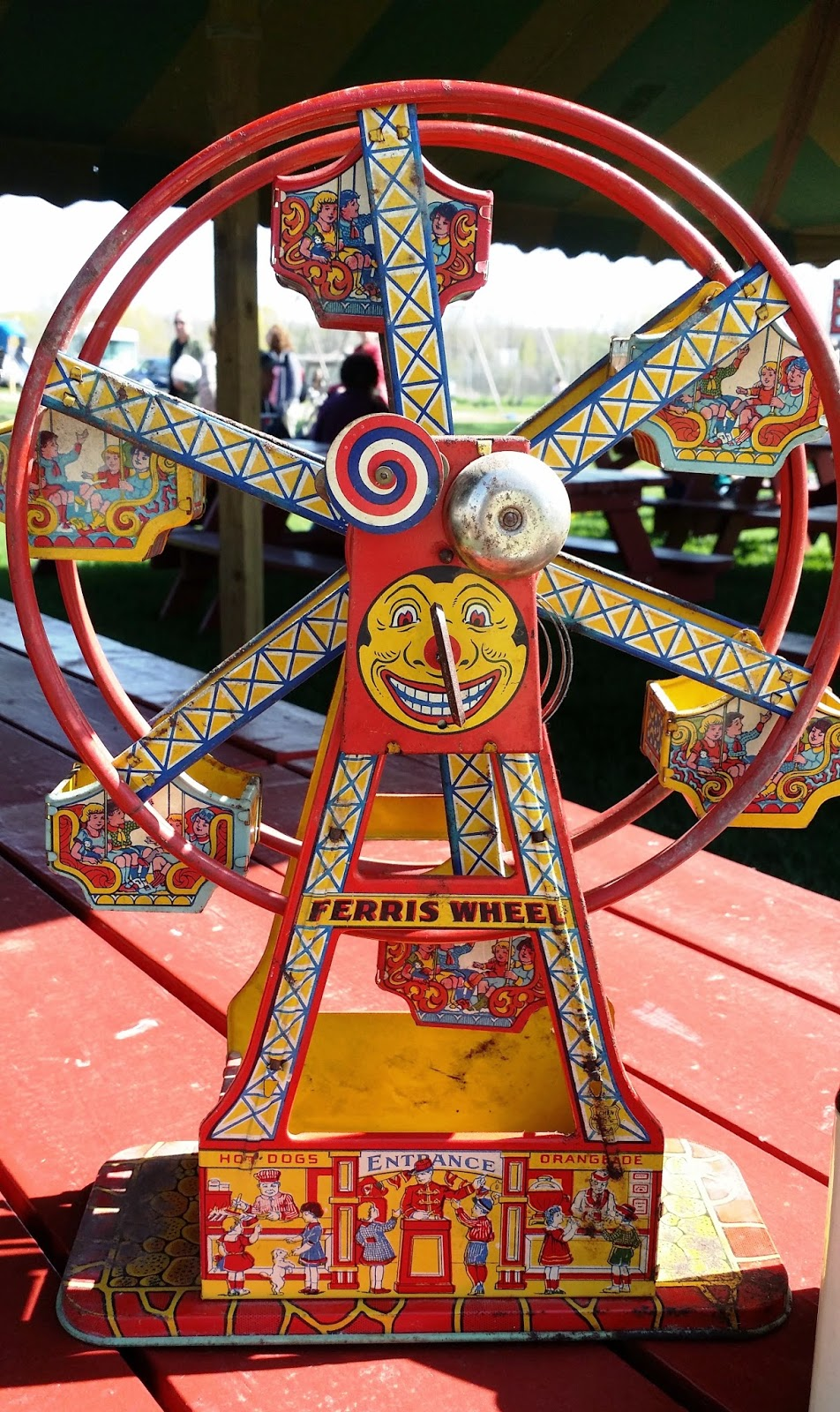 Tracy S Toys And Some Other Stuff Chein Tin Toy Ferris Wheel
