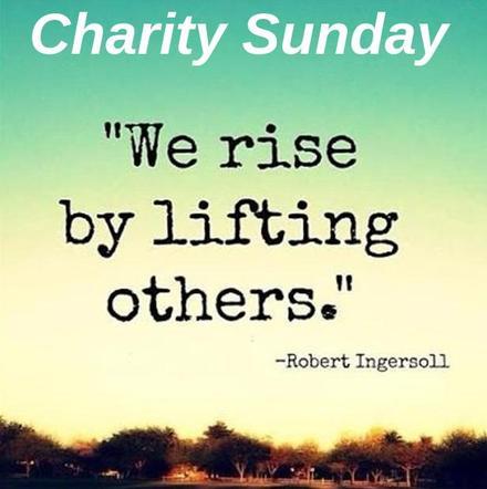 Charity Sunday banner