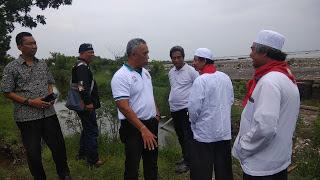 Menteri Lingkungan Hidup Akan Berkunjung, DLH Kota Cirebon Tinjau Pesisir