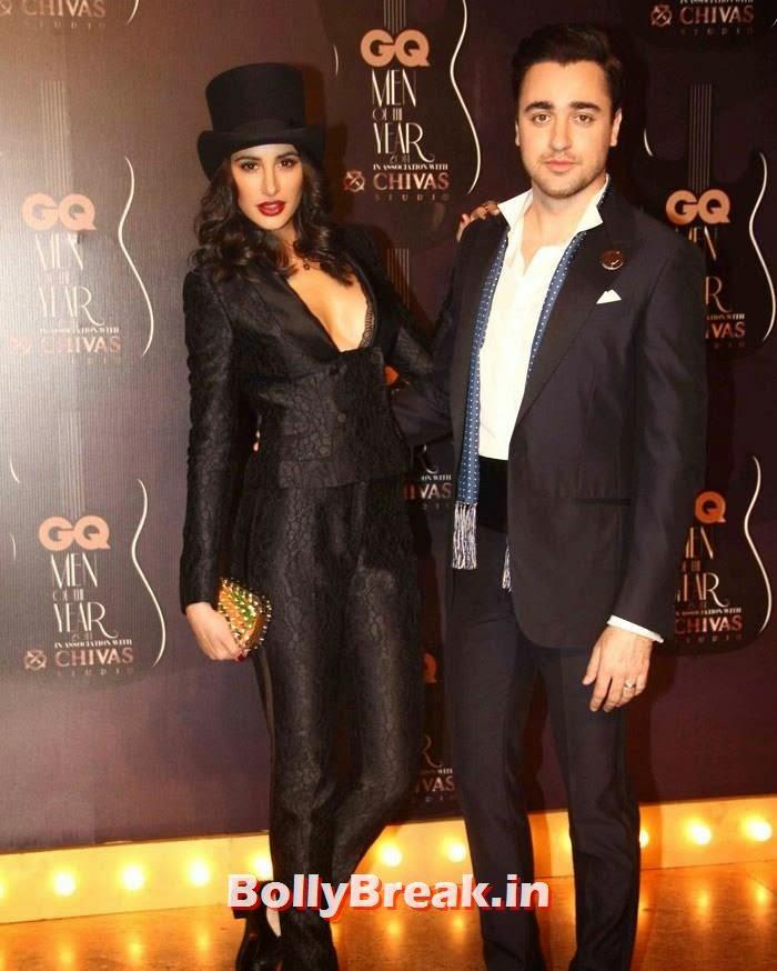 Nargis Fakhri, Imran   Khan, Red Carpet Pics of GQ Men Of The Year Awards 2014