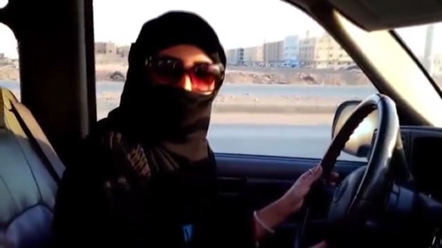 saudi women driving gets a jail time and punishement