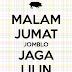 DP BBM Malam Jum'at Lucu Gokil Keren Bagus Bikin Ngakak Terbaru