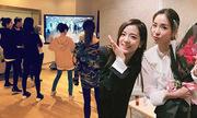 Sao Hàn 31/3: SNSD hội ngộ sau thời gian dài, Dara đọ sắc Ji Soo