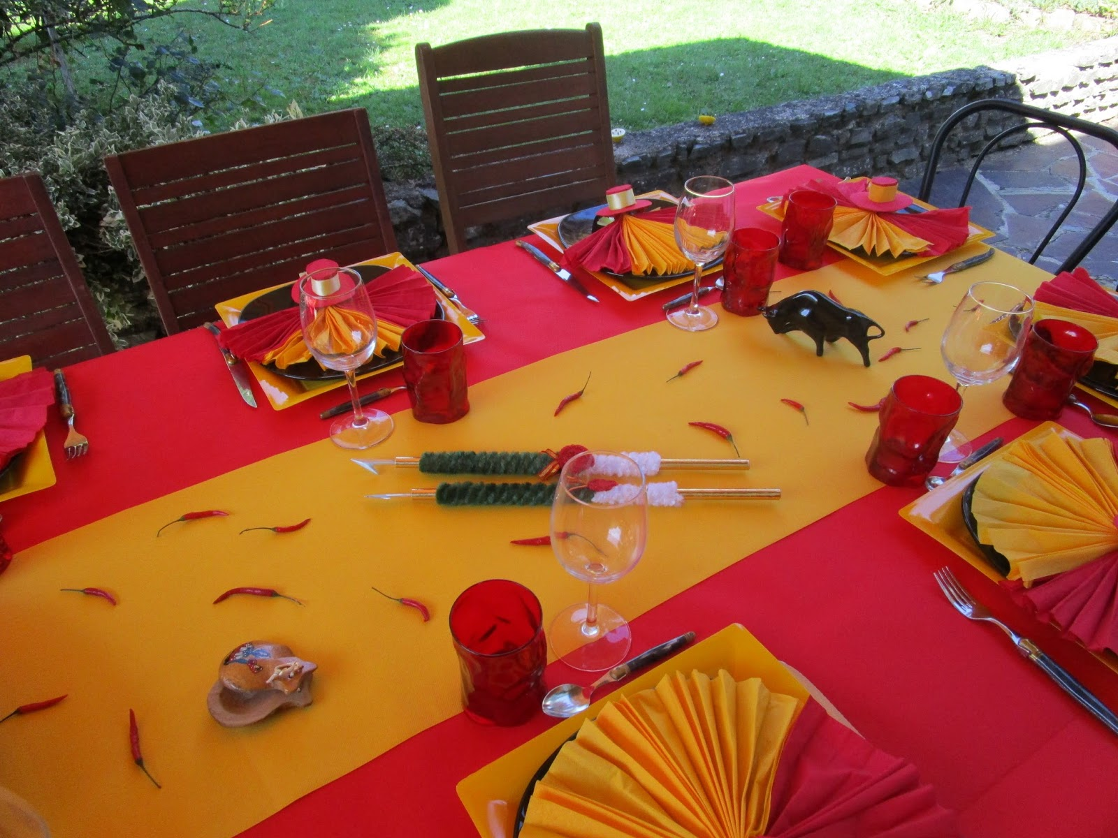 Deco De Table A Themes Deco De Table Espagnole