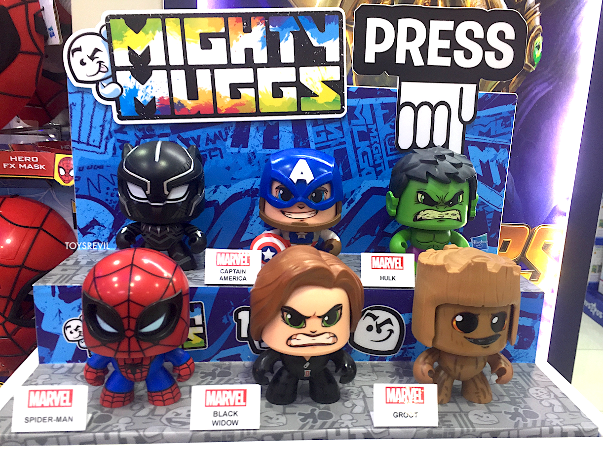 MARVEL STAR WARS Mighty Muggs Spotted at ToysRUs SG