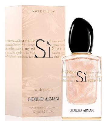 Perfume para novia sí Georgio Armani
