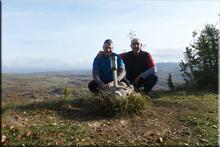 Areatza (Rosteta) mendiaren gailurra 914 m. - 2016ko azaroaren 19an