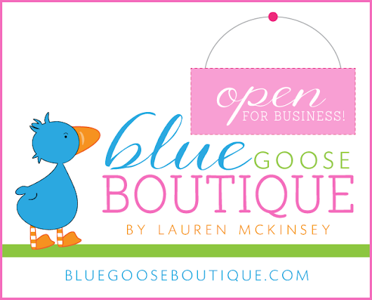 Lauren McKinsey Celebrates Blue Goose Boutique Launch with a Giveaway!