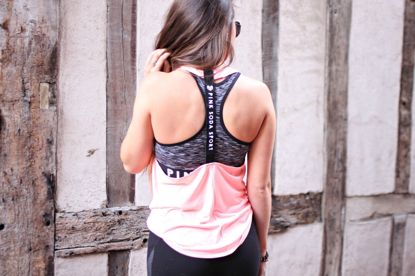 copper garden, pink soda sport, spring collection, workout clothes, fitness blogger,