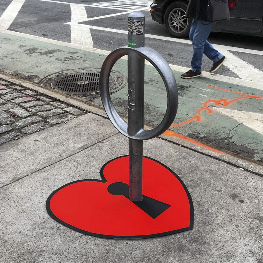 #8 - There's A Genius Street Artist Running Loose In New York, And Let's Hope Nobody Catches Him