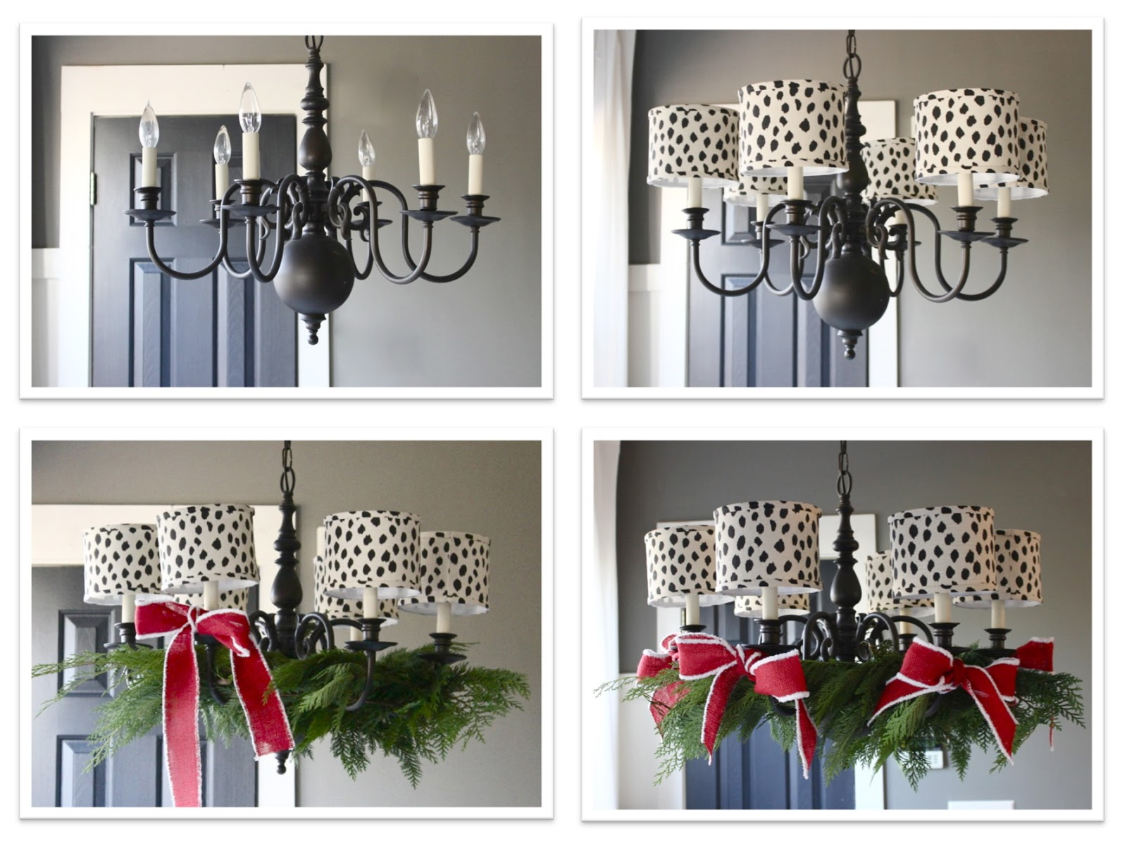How To Decorate Your Chandelier For Christmas Holiday