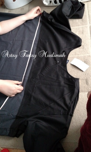 Sew a Jilbab From an Abaya for an Interview