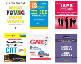 "Buy Books Min worth Rs.80 & Get Extra Rs.75 Off  (Chetan Bhagat's ""Revolution 2020"" for Rs.12 Only)"