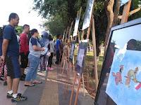 Ratusan kartunis top dunia pameran karya di Semarang