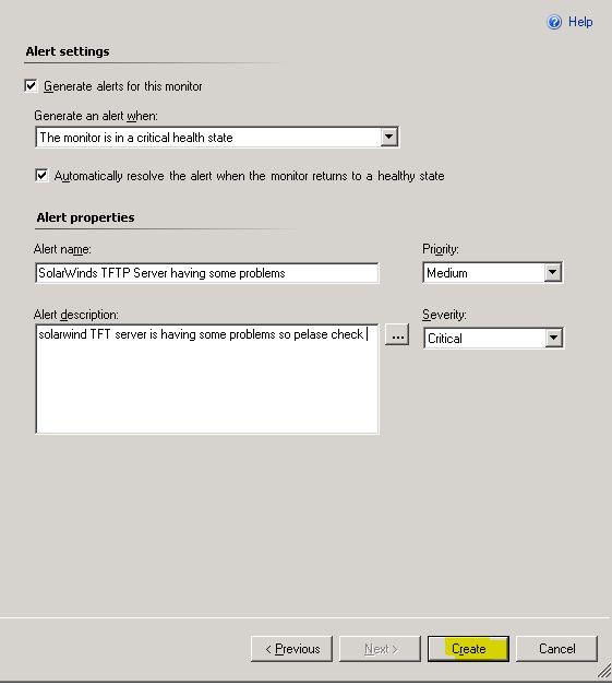 SCOM Admins: SCOM: Monitor a custom Services on Windows