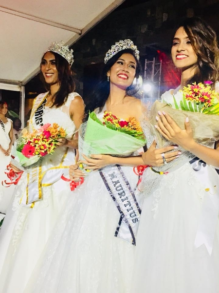 miss mauritius 2018 winner Varsha Ragoobarsingh