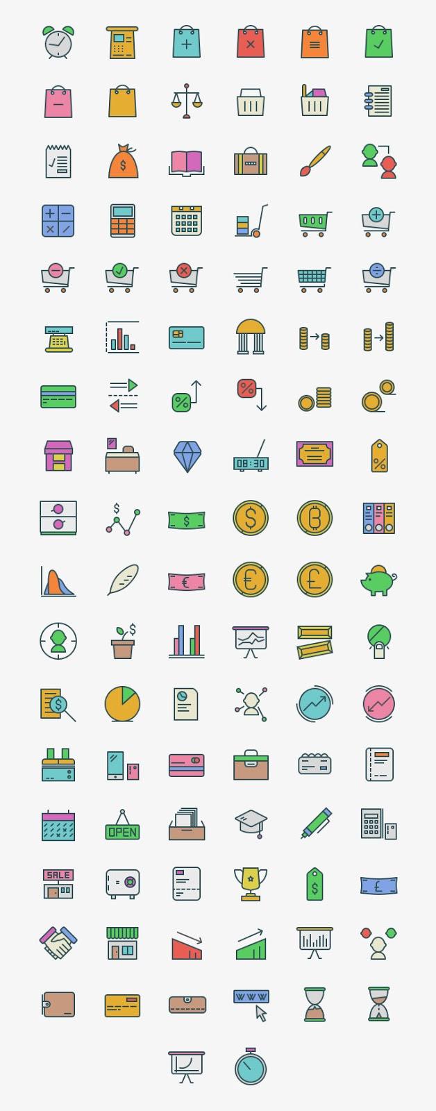 100+ Free Marketing Icons