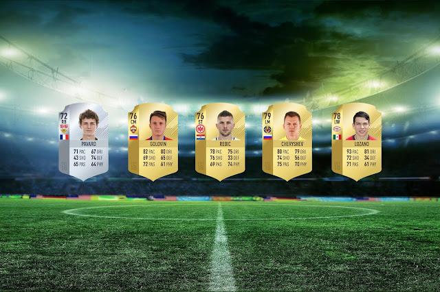 Le figurine di FIFA 19