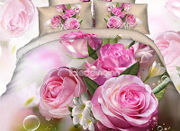 Beddinginn- 3d floral bedding sets