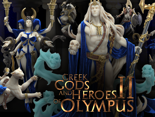 April is One for the Gods- Heroes Infinite
