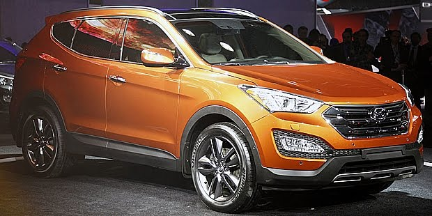 electric cars unveiling hyundai santa fe produced in 2013. Black Bedroom Furniture Sets. Home Design Ideas