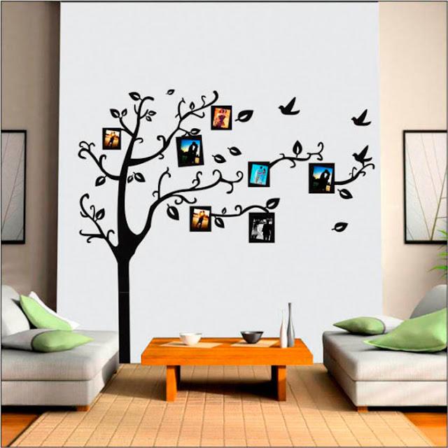 Decore sua casa: Adesivo de parede árvore de fotos