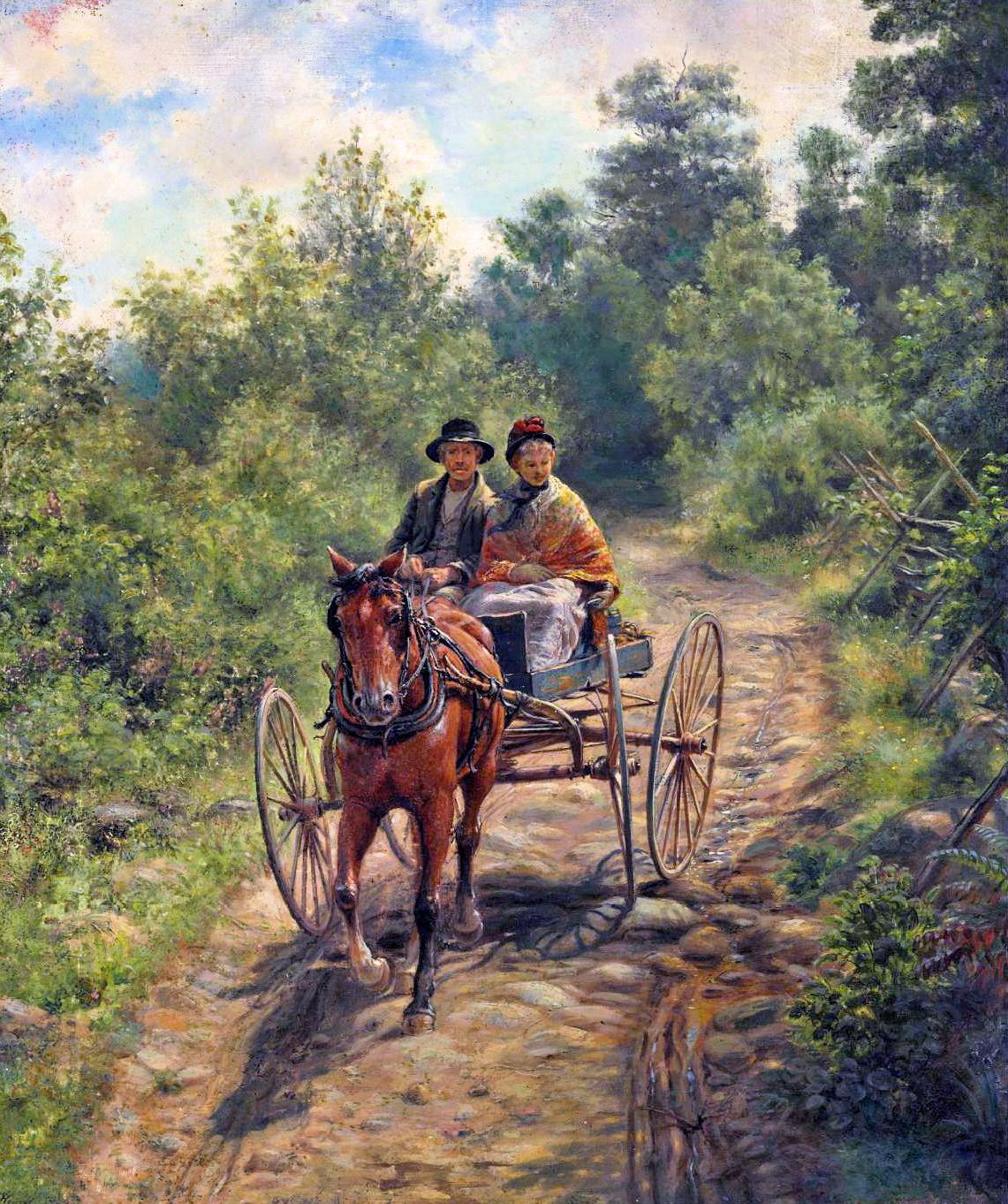 19th century American Paintings: Edward Lamson Henry
