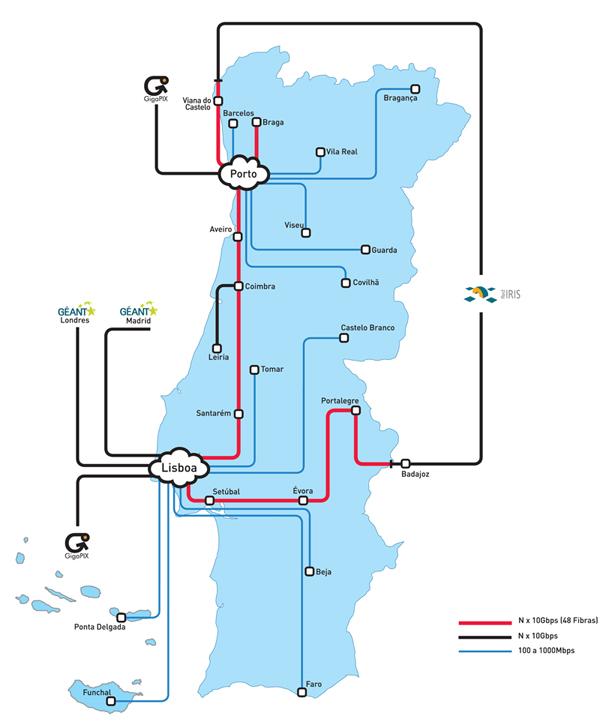 mapa de fibra optica em portugal Como Funciona a Fibra Óptica | Aberto até de Madrugada mapa de fibra optica em portugal