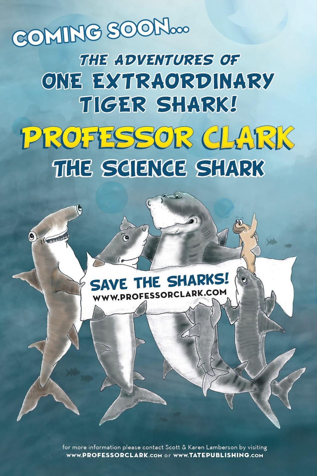 Shark Defenders Professor Clark The Science Shark