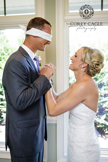 special moment between bride and groom | Corey Cagle Photography