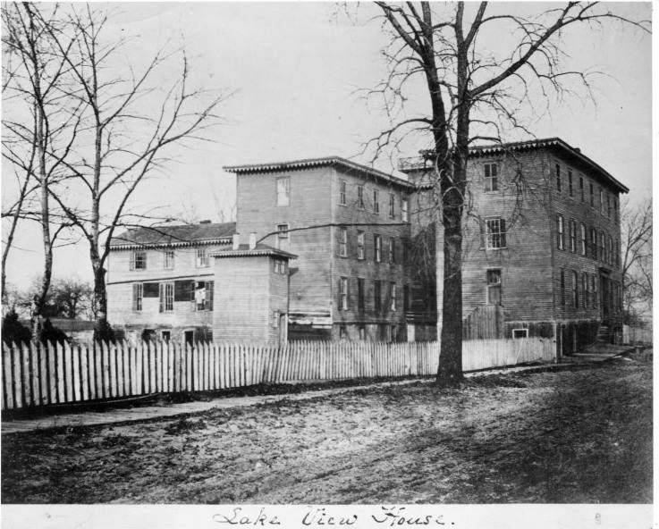Built Roughly Where Lake S Drive And Byron Street Now Intersect The Building Served As A Hotel City Dwellers Could Go To Escape Noise